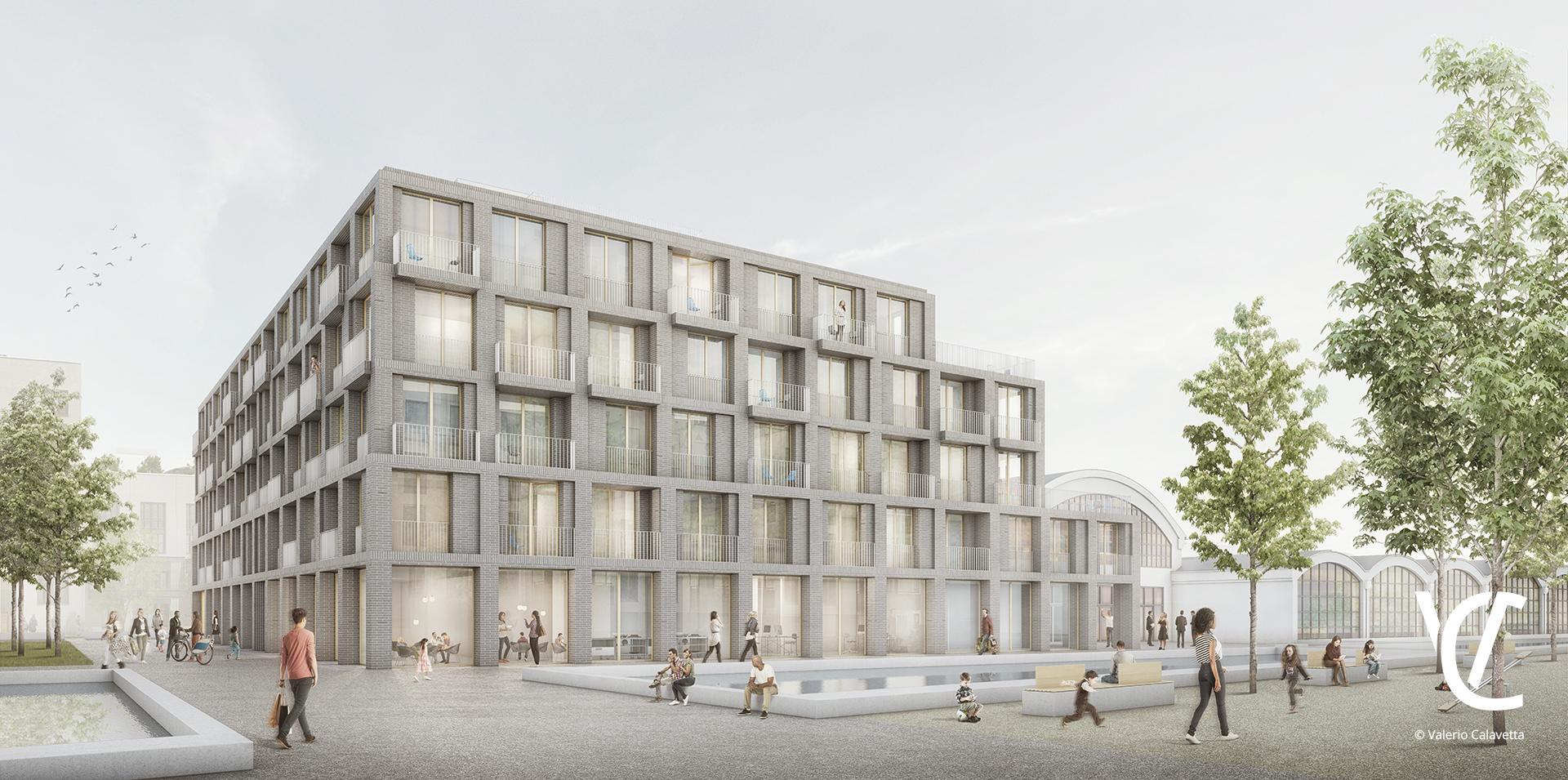Marina Quartier, Regensburg, in Realisierung nach Überarbeitung – 1.Preis