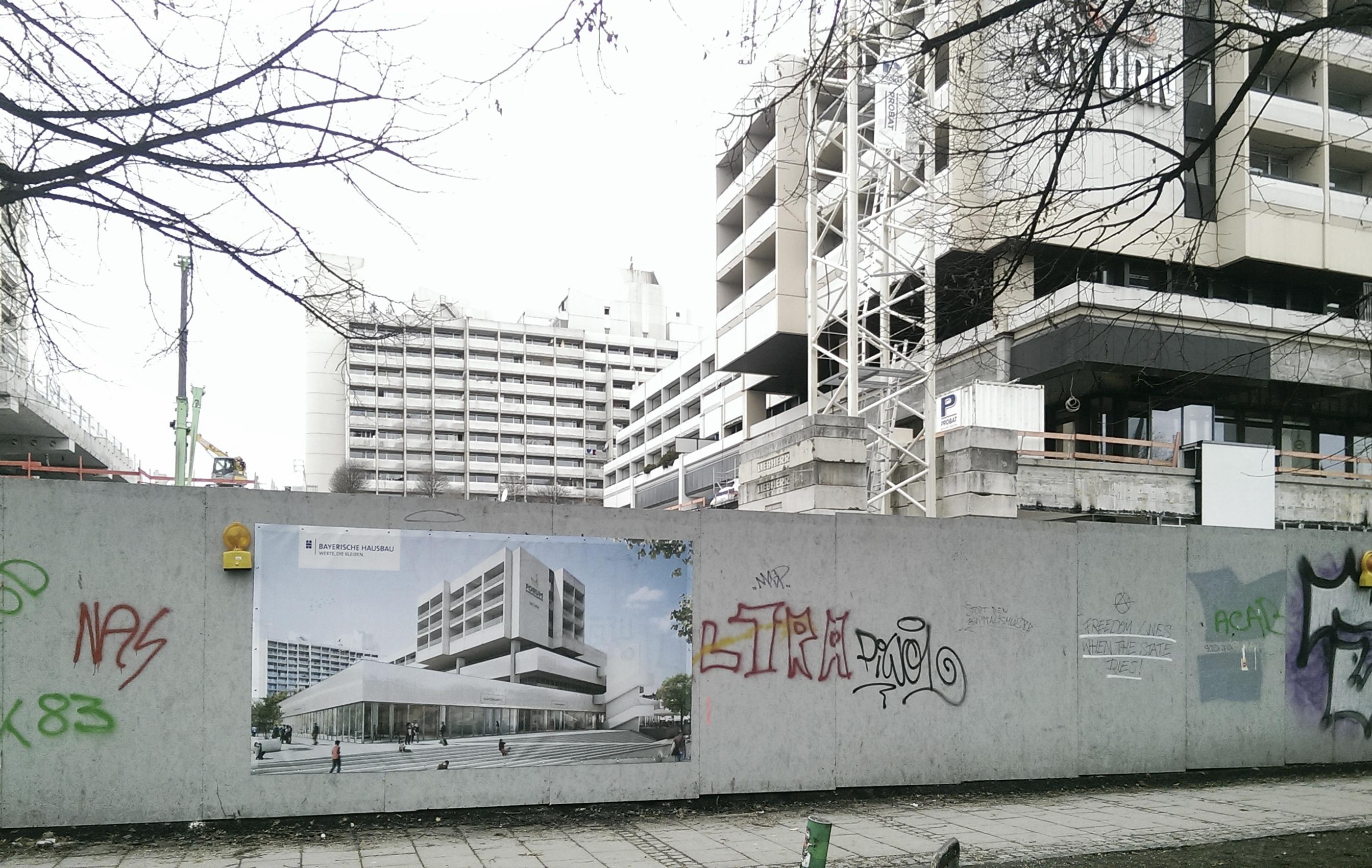 Revitalisierung Schwanthaler Höhe, München, in Realisierung