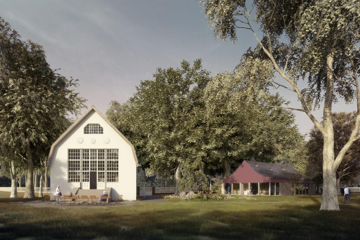 Visualisierungen – WBW Besucherzentrum Brecht-Weigel-Haus